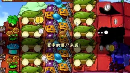 【火助解说】 植物大战僵尸五场景无尽版80轮实况演示