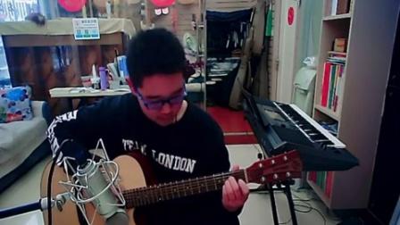 苏州吴中区 蓝调琴行学员 陈浩泽吉他弹唱 新年歌