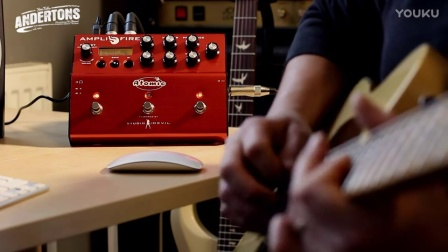 The Atomic Amplifire Pedal Plays Funk