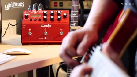 The Atomic Amplifire Pedal Does Slow Blues