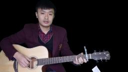 吉他弹唱教学《让我留在你身边》鹿晗 摆渡人 友琴吉他