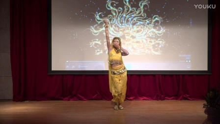 印度舞《西土情韵》表演者:曹千一
