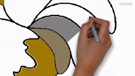 鸡年创意大爆发第3弹-姜丰手绘