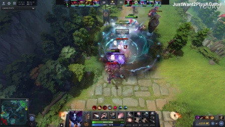 Sccc Dota2 7.01 Queen of Pain Fxxking Epic Game
