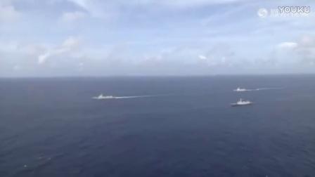 美中将妄称中国军舰是纸老虎 解放军大校:战场上见