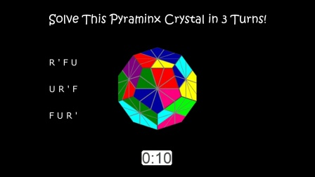 Solve This Pyraminx Crystal in 20 Seconds!