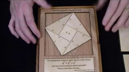 Pythagorean Theorem Puzzle - Geometrically proved math puzzle