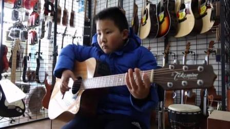 泰安七乐琴行  张炳阳  吉他演奏  《南泽大介指弹练习》