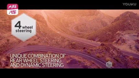 兰博基尼Aventador S 四轮转向技术展示