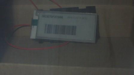 电子纸标签,宽温电子墨水屏货架标签的低温性能,-20度正常工作