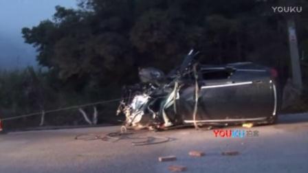【拍客】广西河池一越野车与客车相撞致5人当场死亡