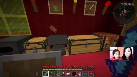 Minecraft 我的世界生存模式27期新手生存 不实用的黄金套装 小悠实况游戏解说