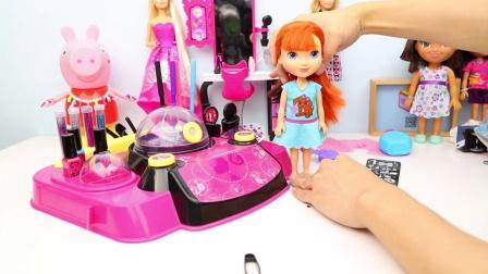 爱探险的朵拉 朵拉好朋友凯特 芭比娃娃造型工作室变身