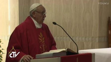 教宗清晨弥撒:基督徒是爱而非义务的奴隶