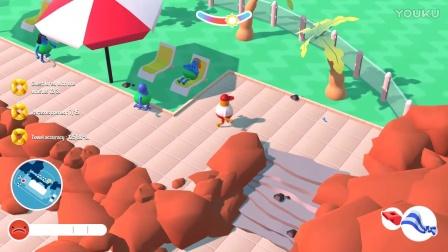 【屌德斯解说】 模拟泳池管理员 游泳池灵异事件游客居然会自燃!