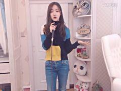 YY美女翻唱唱《大笑江湖》 是不是和阳哥有的一