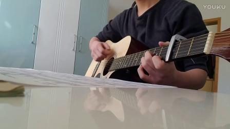 赵雷《吉姆餐厅》吉他伴奏