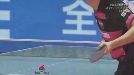 2017日本乒乓球锦标赛男单决赛 水谷隼 VS 吉村和弘
