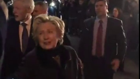 20170201 - Hillary Clinton Attends a Musical on Broadway, New York City, NY 02