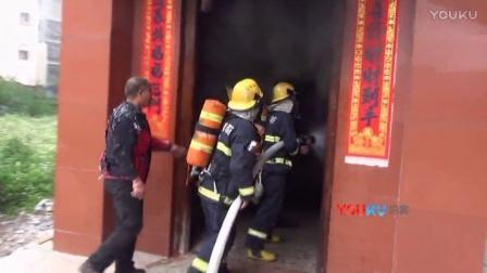 【拍客】监拍广西一液化气充装黑作坊爆炸 1人浑身是火逃出