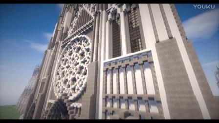 【Minecraft】建筑游记04:教堂合集—Time工作室
