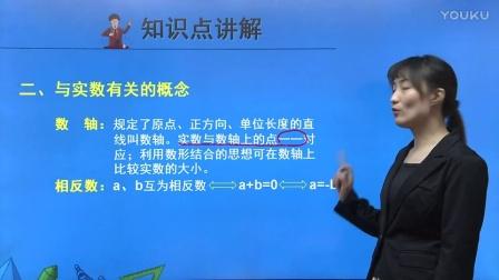 人教版初中數學七下《實數》名師微課 北京劉紅蕾