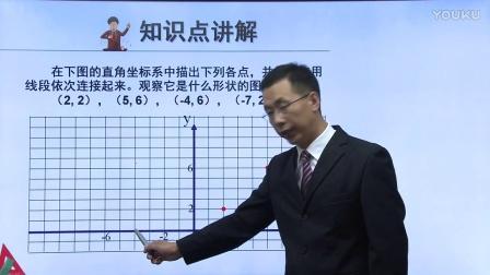 人教版初中數學七下《坐標與圖形性質》名師微課 北京薛江輝