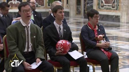 教宗接见特奥会代表团:包容使社会变得富饶