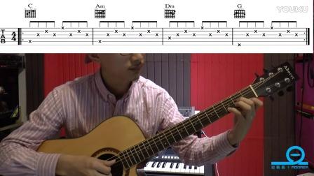 吉他弹唱技巧第一课(经过音的使用)