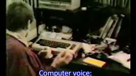Speech Recognition C 64 1984
