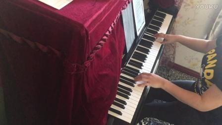 《美女与野兽》主题曲《Beauty And The Beast》钢琴曲