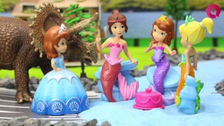 奇趣箱小公主苏菲亚 第一季:被困在岛上的苏菲亚公主 01