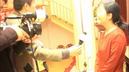 20120330林静在黄天戈钢琴独奏音乐会后接受电视台采访