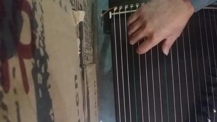 金韵古筝01032便携式120厘米古筝。