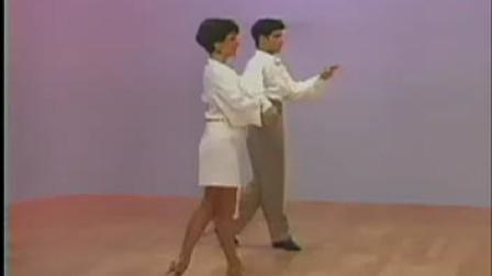 恰恰舞教学(5)前进锁步