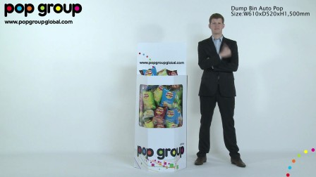 Dump Bin Auto Pop, by POP Group!