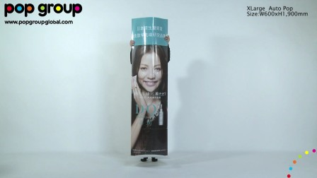 XLarge Auto Pop. Patented display, by POP Group!