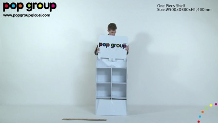 One piece shelf (patented display), by POP Group!