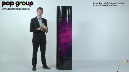Auto Pop with simple shelves, by POP Group!