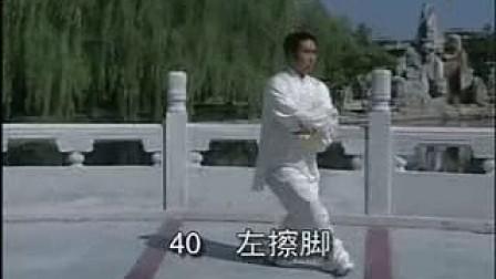 56陈式太极拳38—45动分解示范