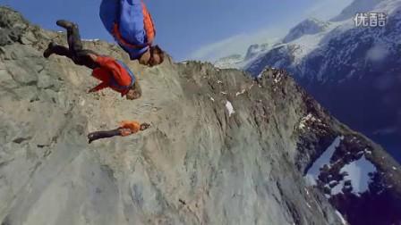 百闻不如一见,超酷惊险悬崖跳伞