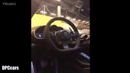 Yellow Ferrari 812 Superfast