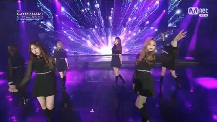 【风车·韩语】GFRIEND两曲连唱Gaon榜颁奖盛典现场版