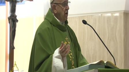 教宗清晨弥撒:愿上主赐予我们神圣的羞耻感,以战胜野心的诱惑