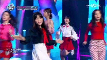 【风车·韩语】Red Velvet《Rookie》M!Countdown 0223现场版