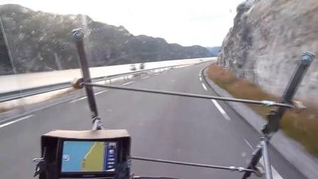 Drive to Rauland. Norway