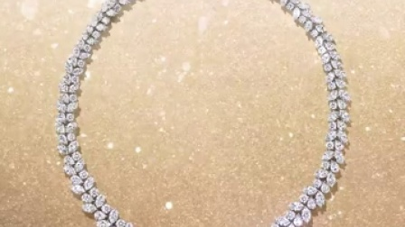 经典锦簇Winston™ Cluster Wreath钻石项链闪耀奥斯卡红毯