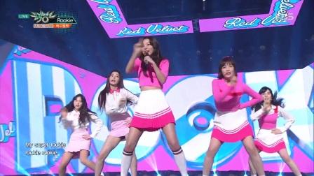 【风车·韩语】Red Velvet《Rookie》音乐银行0224现场版