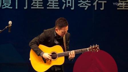 田中彬博指弹吉他《春风》雅马哈加震吉他LLTA星星河乐器专营店