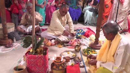 我们的印度婚礼-当天早上的仪式2
